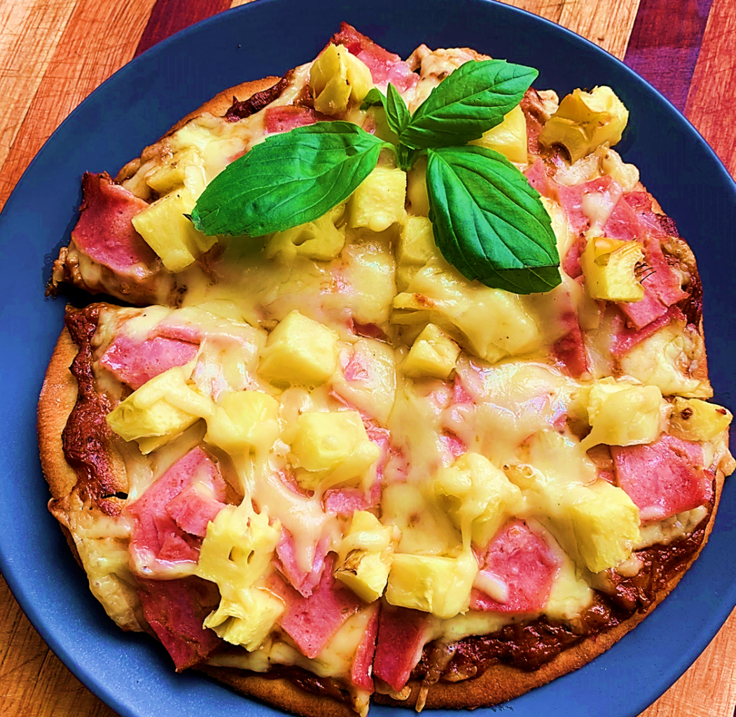 Kiddies (or adults) Pizza
